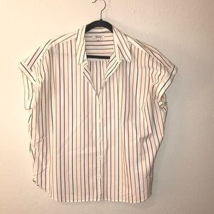 Madewell central shirt in stripes
